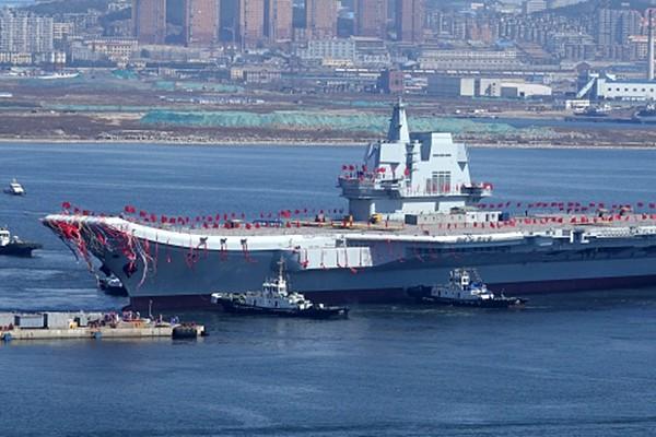 中共首曝航母發展計劃 僅一項就落後美國半世紀