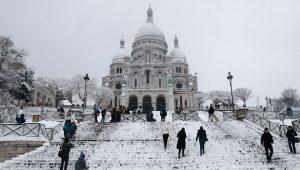 暴雪肆虐欧洲 气温低至-29度  41人死于严寒