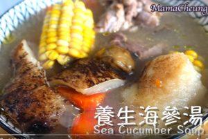 養生海參湯 全家滋補品(視頻)