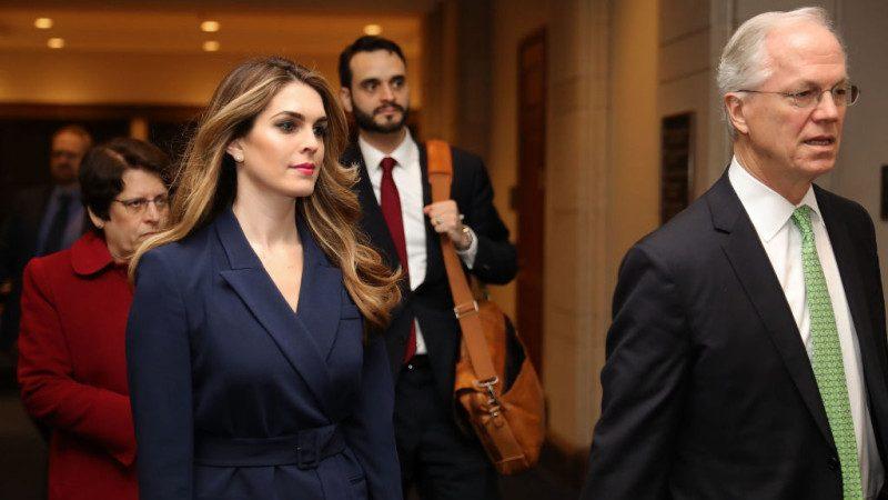 国会面询后辞职 白宫通讯主任再度换人