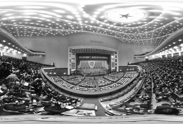 中共人大11日表决修宪  传用电子表决器媒体禁入