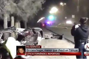 12岁童飙车撞树受轻伤 5童抛飞当场身亡