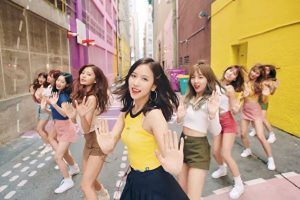 TWICE《LIKEY》點閱數破2億 韓女團最速(視頻)