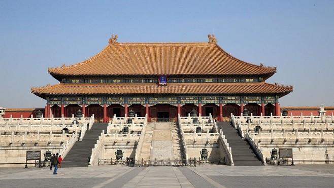 """老北京风水呈""""双龙""""布局 中共设三大恐怖建筑破局(组图)"""