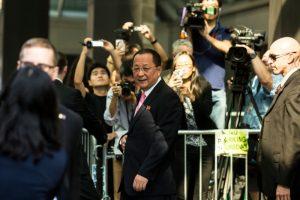 真急了?朝鮮外長李勇浩將訪瑞典