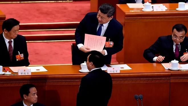 修宪高票通过:习近平长任国家主席 2票反对