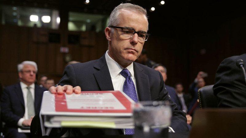 退休前几天面临开除 前FBI副局长退休金不保