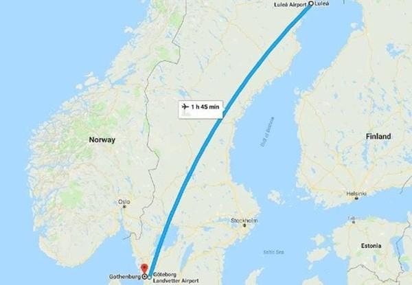 搞乌龙?瑞典航空公司把全机旅客送错目的地