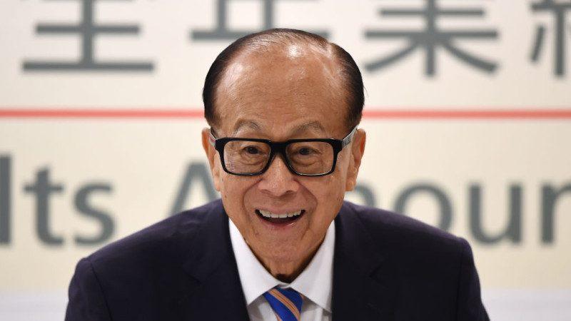 长和集团主席 亿万富豪李嘉诚宣布退休
