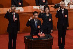 """副总理配置""""鹤""""立鸡群?仅一名专家 韩正孙春兰反对票最多"""