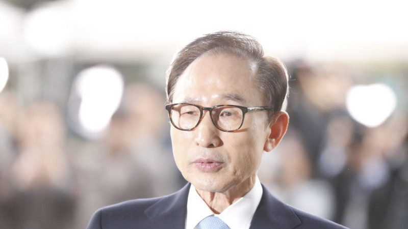 毁灭证据之虞 韩检提请批捕前总统李明博