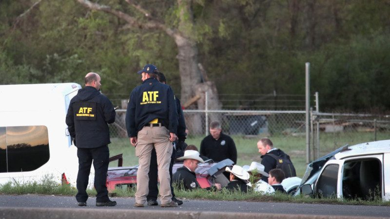 美德州连环爆炸案嫌犯锁定 遭警方追捕自爆身亡