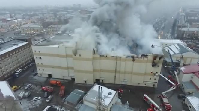 俄西伯利亚商场大火延烧 死亡增至53人