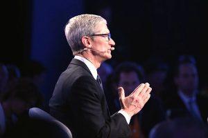 赴北京論壇發表演講   蘋果CEO當場傻眼