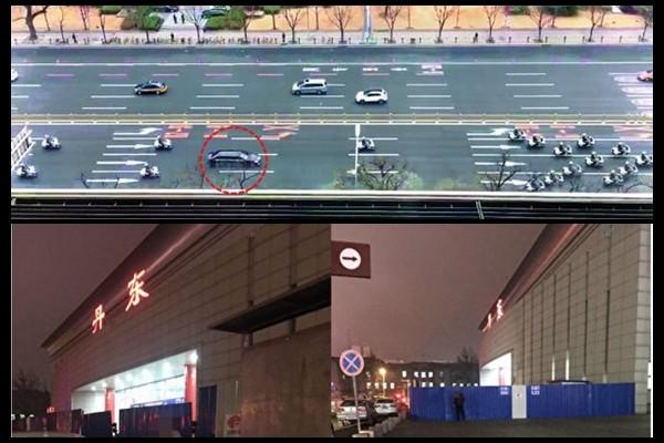 金正恩訪華視頻流傳 天安門廣場清空所有遊客(視頻)