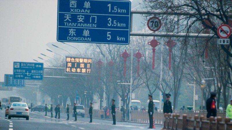传金正恩密访北京 沿途一片肃杀(组图)