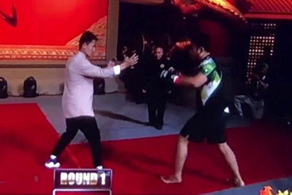 咏春拳手丁浩六次被打倒地  自称把徐晓冬打到内伤(视频)