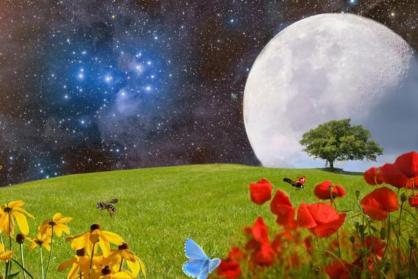 為什麼月亮總是以正面朝向地球(視頻)