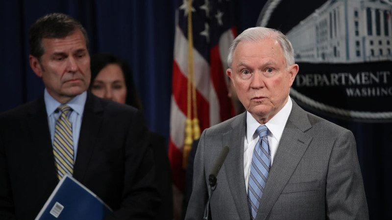 拒绝另派特别检察官 美司法部长激怒共和党