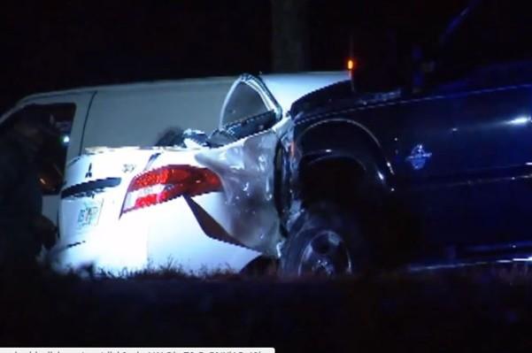 疑被GPS误导 游佛州英一家4口车祸丧生