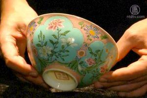 康熙御用粉红碗香港拍卖 神秘人士出1.9亿天价