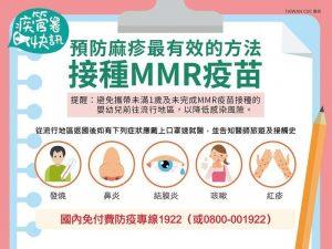 空服員接觸染麻疹 行蹤遍及台灣北中南