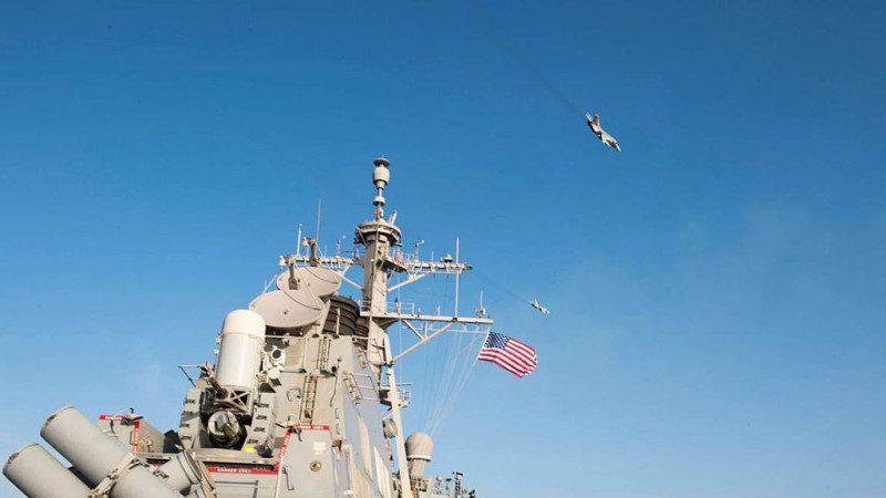傳美飛彈驅逐艦挺進敘利亞 俄三軍進入戰備狀態