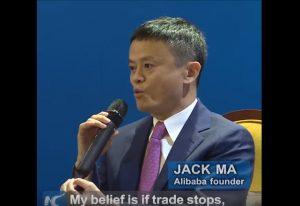 馬雲博鰲英文講話疑嗆聲環時:貿易歸零戰爭即爆發