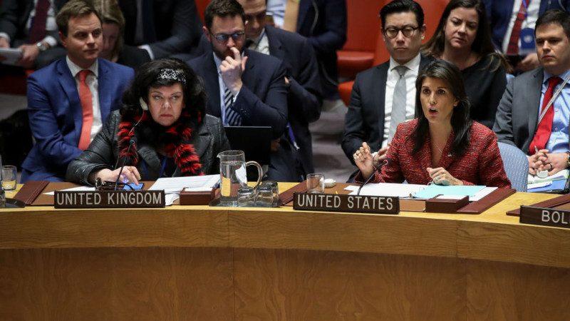 美提谴责叙利亚化武攻击 俄投反对票
