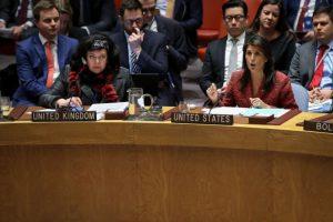 俄大使就叙利亚化武问题扯谎 黑利嘲讽:服了