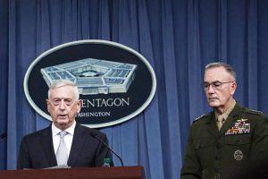 聯軍空襲行動 美國防部長:向阿薩德發出明確訊息
