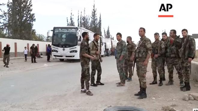 空襲後 武裝分子完成撤離 美法英聯手敘化武調查