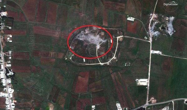 敘利亞施化武日期敏感 衞星圖戳破「攔截導彈說」
