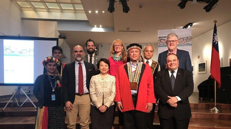 台北经文处举办原住民永续发展研讨会 逾百贵宾出席交流热络