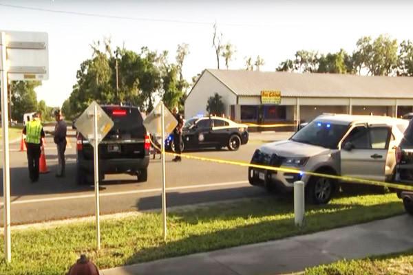 中餐馆隔窗开枪袭警 美佛州2警伤重身亡