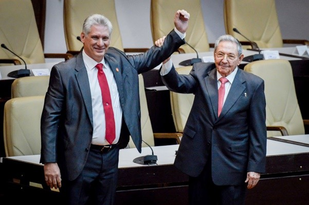 古巴新領導人就職 美:人民不會更自由