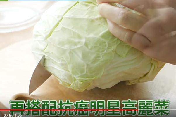 日医学博士:餐前吃高丽菜 瘦身防肠癌(视频)