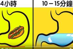 吃飯時到底可不可以喝水 答案和你想的可能不一樣(視頻)