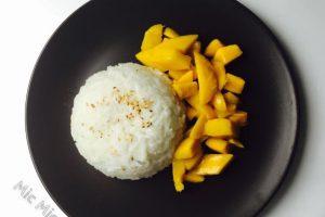 芒果糯米饭(视频)