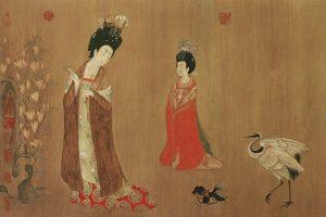 国色天香夸牡丹 谁是最早的国色美人?