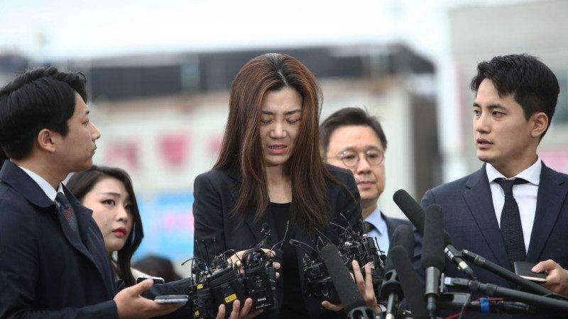 大韓航空二千金「潑水門」 警申請逮捕令