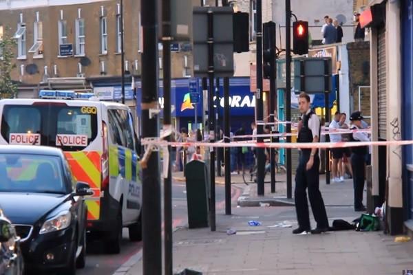 伦敦街头爆枪击 2少年中弹送医