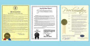 美国密苏里州三城市宣布法轮大法日