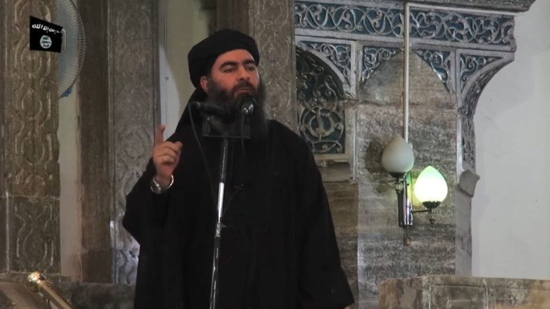 捕获5名ISIS高官 川普发推祝贺