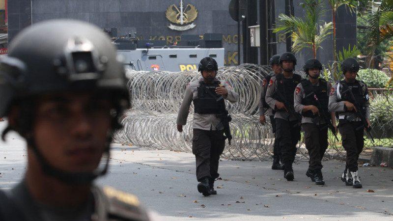 印尼恐攻陰影籠罩 警察觀察:57恐嫌進入雅加達