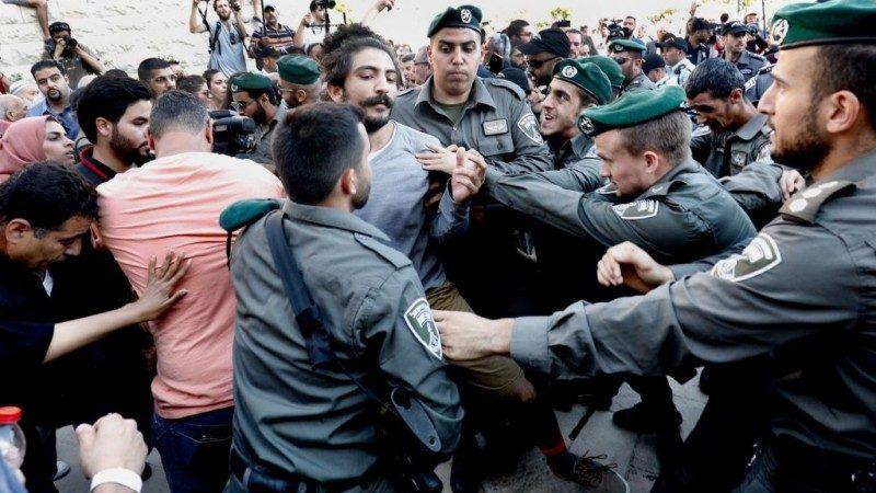 美使館遷耶路撒冷 以回擊巴人暴力抗議致58死
