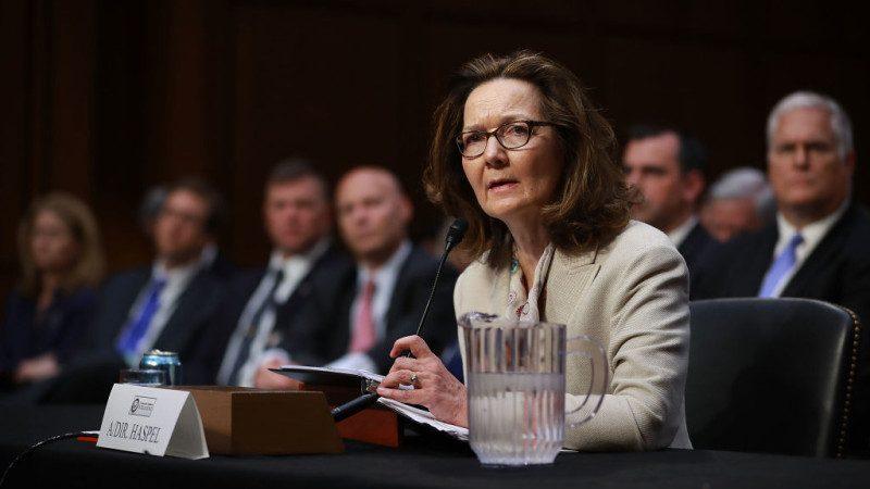 再贏兩民主黨議員支持 CIA女局長基本確定
