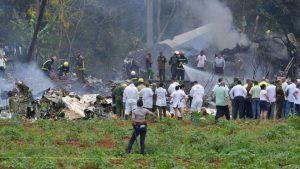 古巴航空机龄39年班机坠毁 逾百人罹难3命危