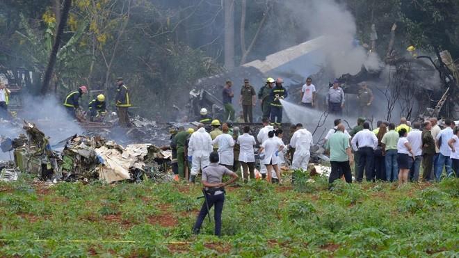 古巴航空機齡39年班機墜毀 逾百人罹難3命危