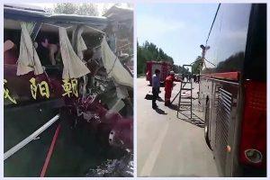遼寧重大交通事故 11人死傷